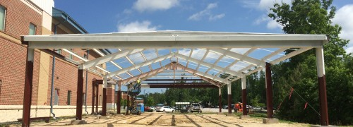 Construct Training Canopy for ORD EODTD